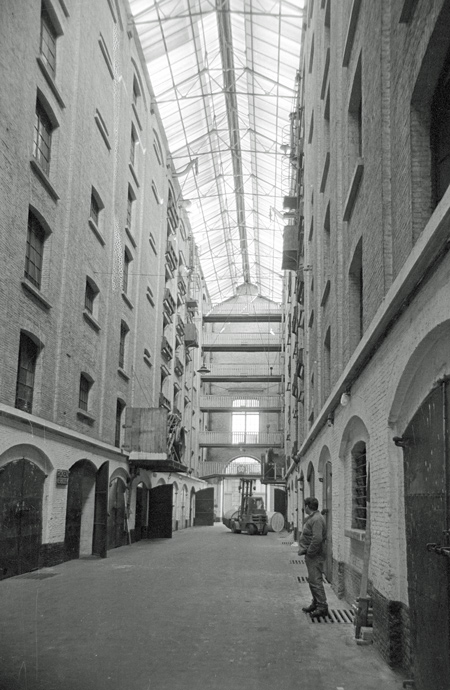 St.Felix warehouse before restoration and re-use