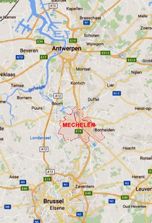 Where is Mechelen situated ?