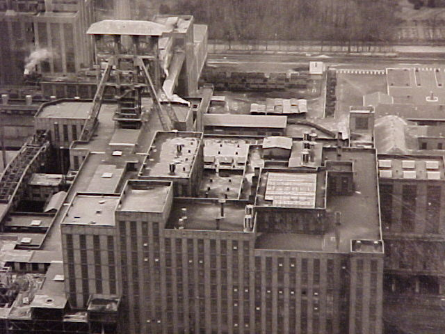 the coal preparation plant at Beringen (Belgium)