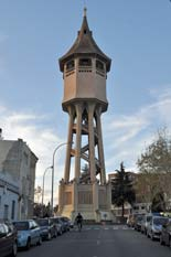 Hennebique water tower Sabadell