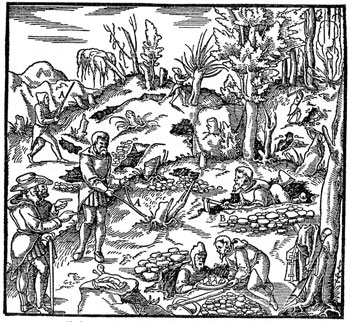 Georgius Agricola, De Re Metallica, 1556