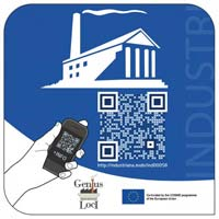 The European industrial heritage label with QR code