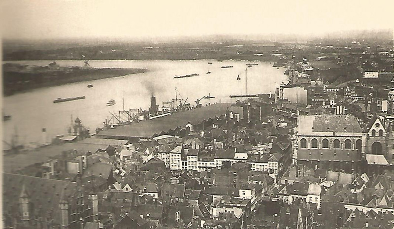 Image result for antwerp docks 1920